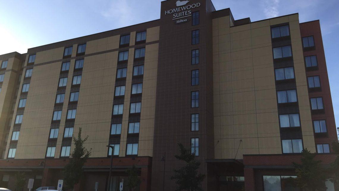 Drei Wochen Hotel, alles andere als entspannend
